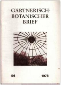 Titelblatt GBB 56 / 1978